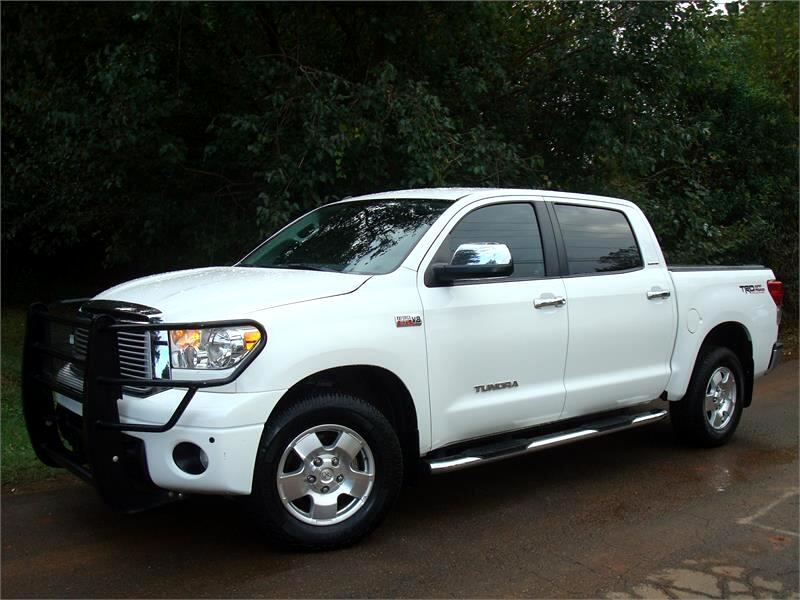 2012 Toyota Tundra 4WD Truck CrewMax 5.7L FFV V8 6-Spd AT LTD (Natl)