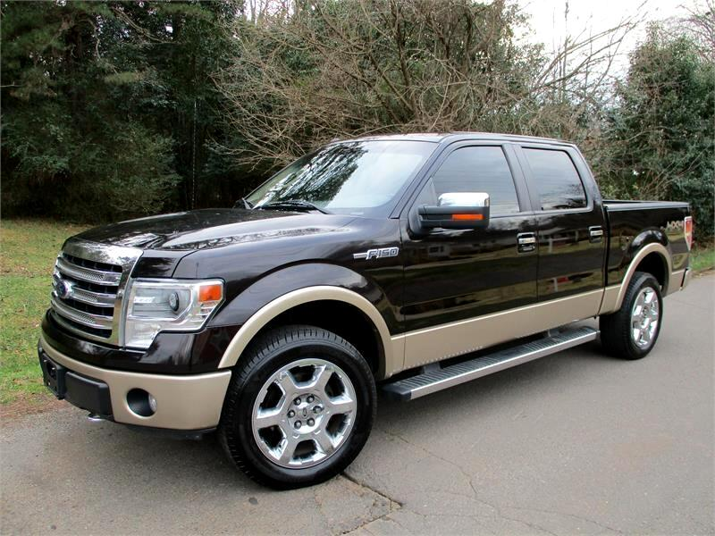 "Ford F-150 4WD SuperCrew 145"" Lariat 2014"