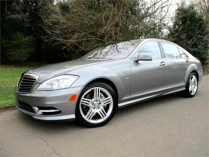 Mercedes-Benz S-Class 4dr Sdn S 550 RWD 2012