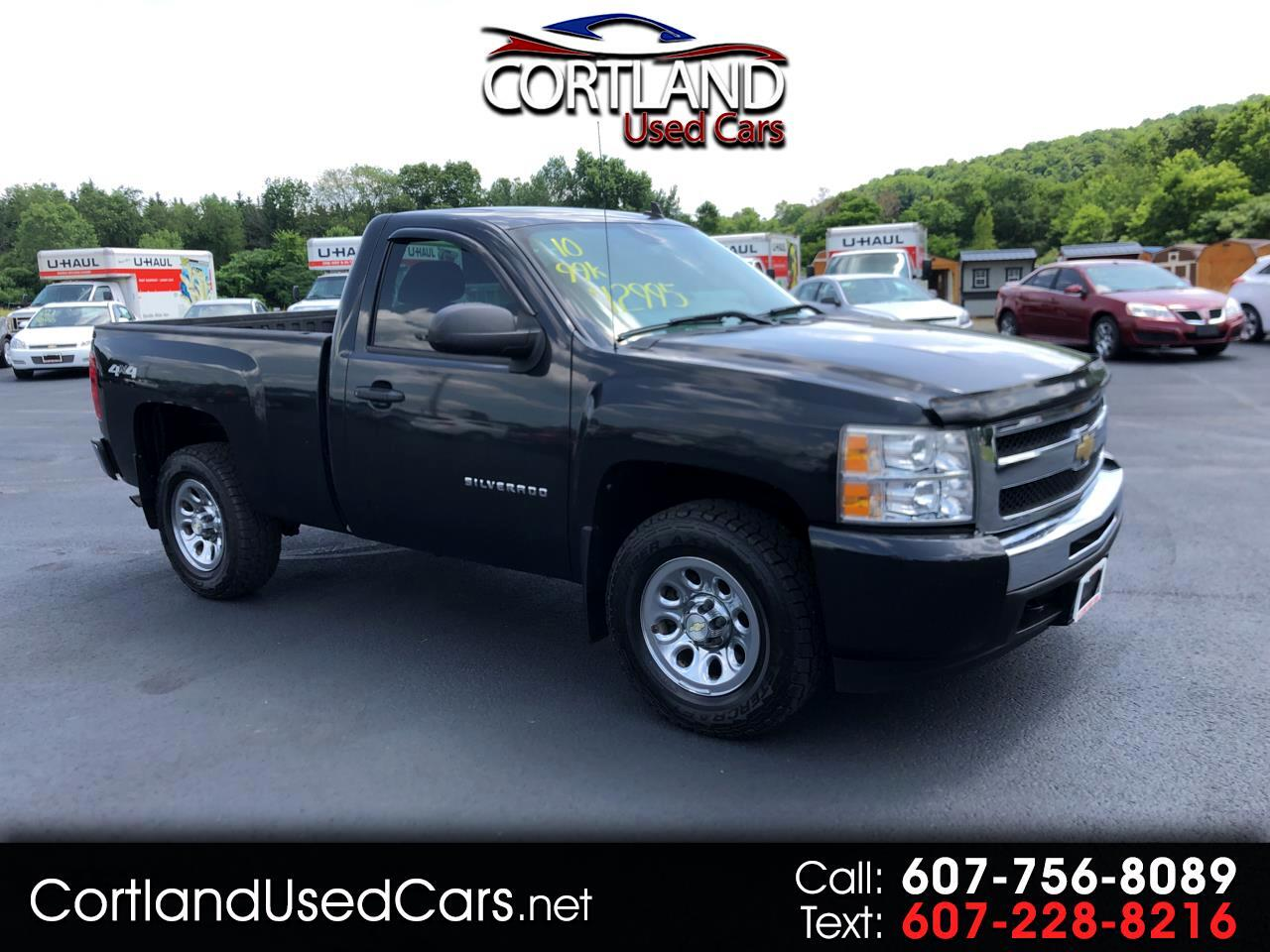 2010 Chevrolet Silverado 1500 Work Truck Short Box 4WD