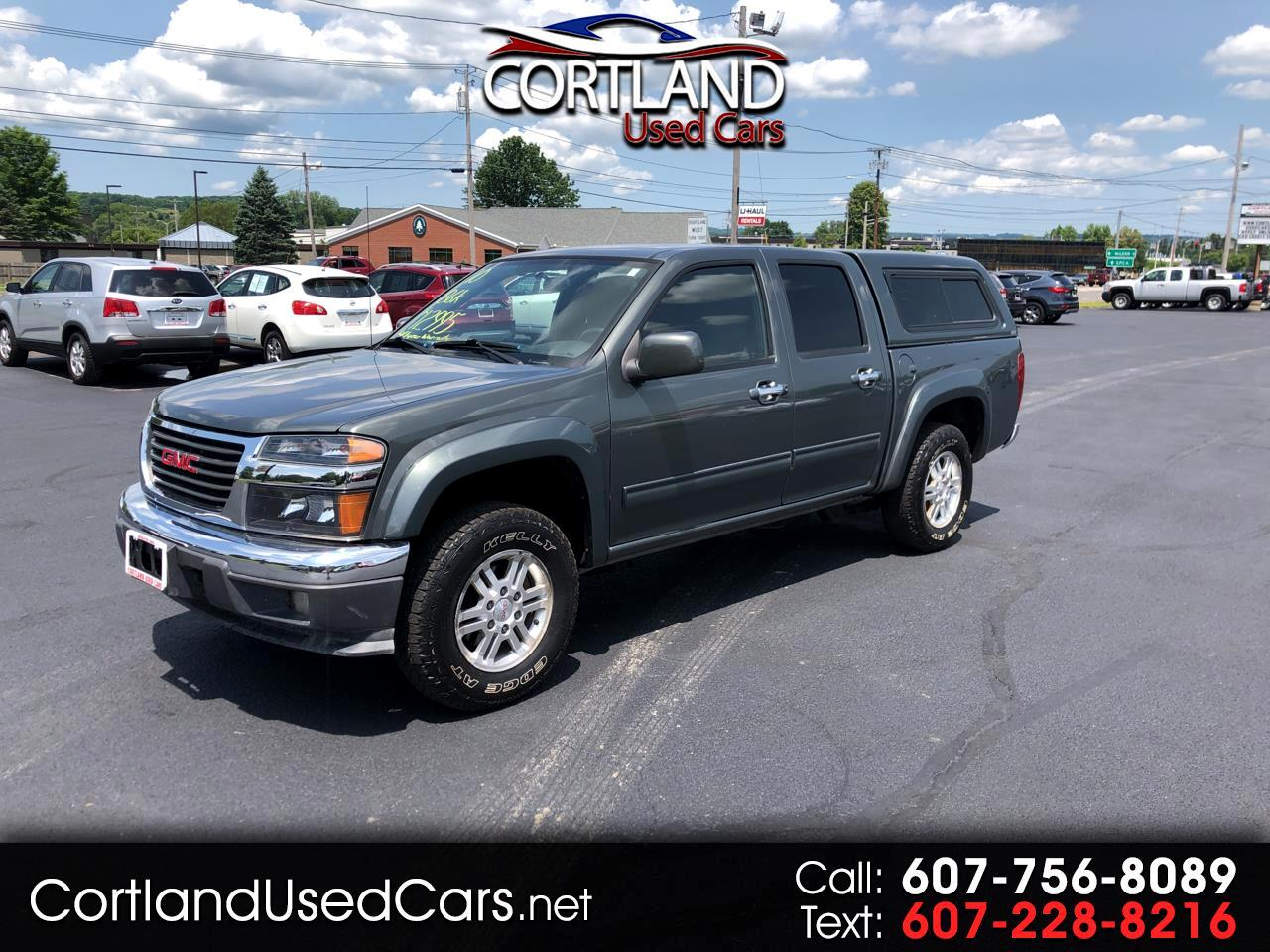 2010 GMC Canyon 4WD Crew Cab 126.0