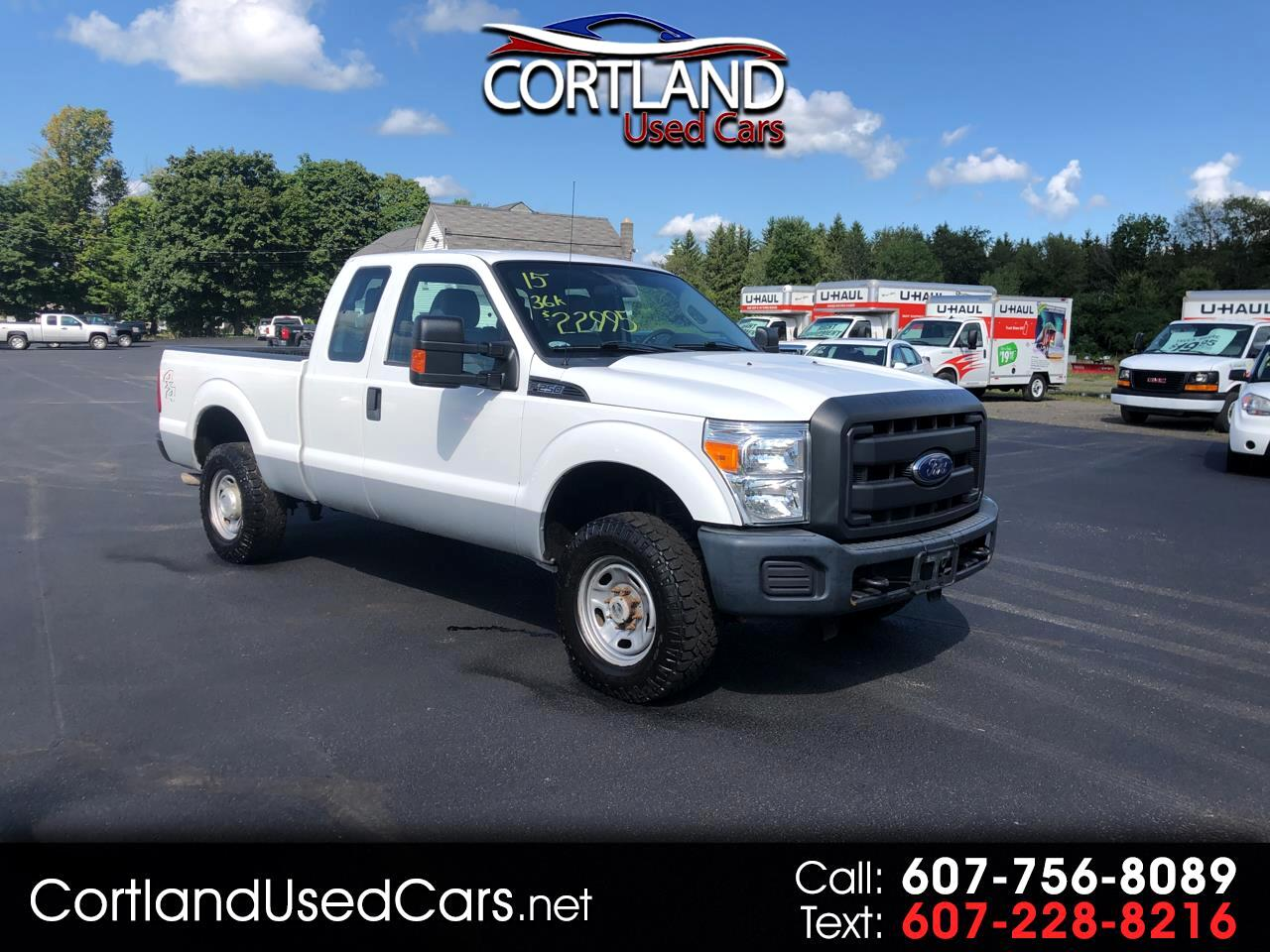 "2015 Ford Super Duty F-250 SRW 4WD SuperCab 142"" XL"