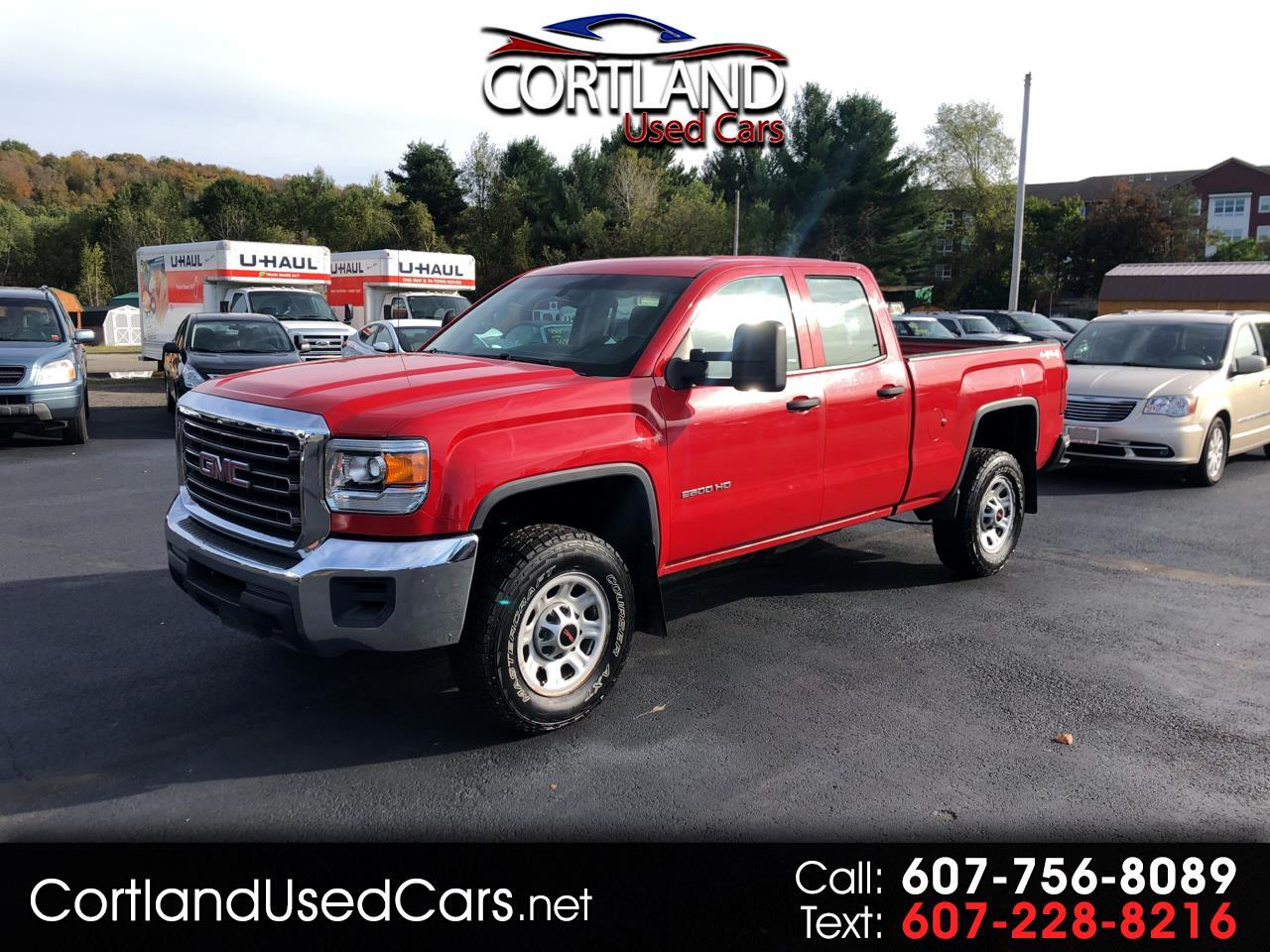 """2015 GMC Sierra 2500HD available WiFi 4WD Double Cab 144.2"""""""