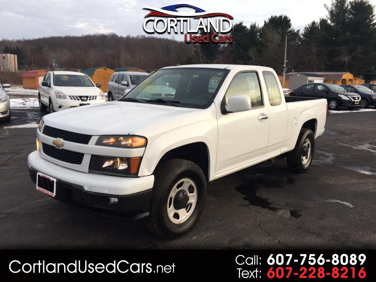 "Chevrolet Colorado 4WD Ext Cab 128.3"" WT 2012"