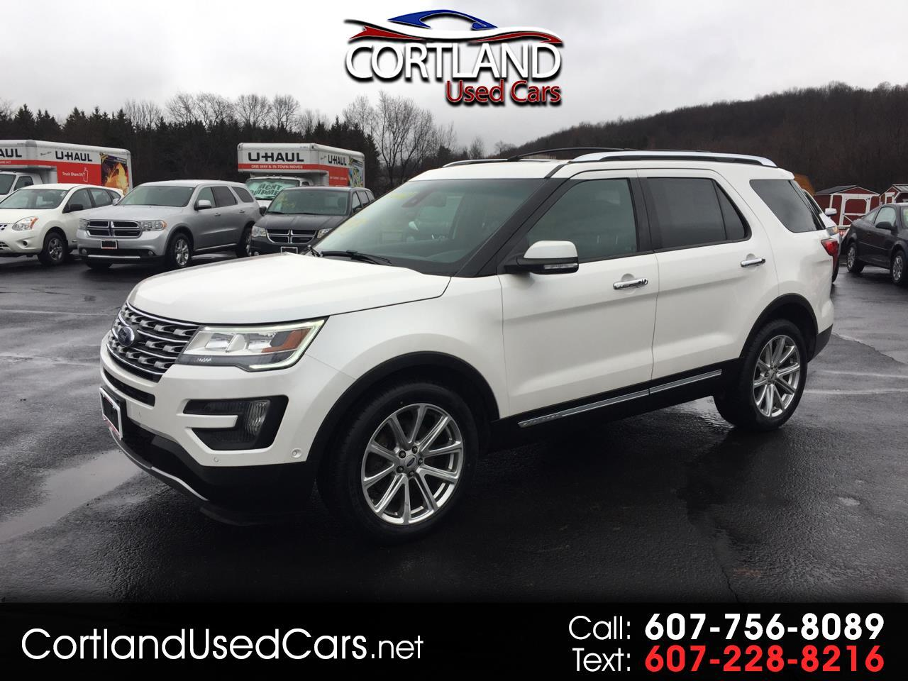 "Ford Explorer 4dr 112"" WB Limited AWD 2016"
