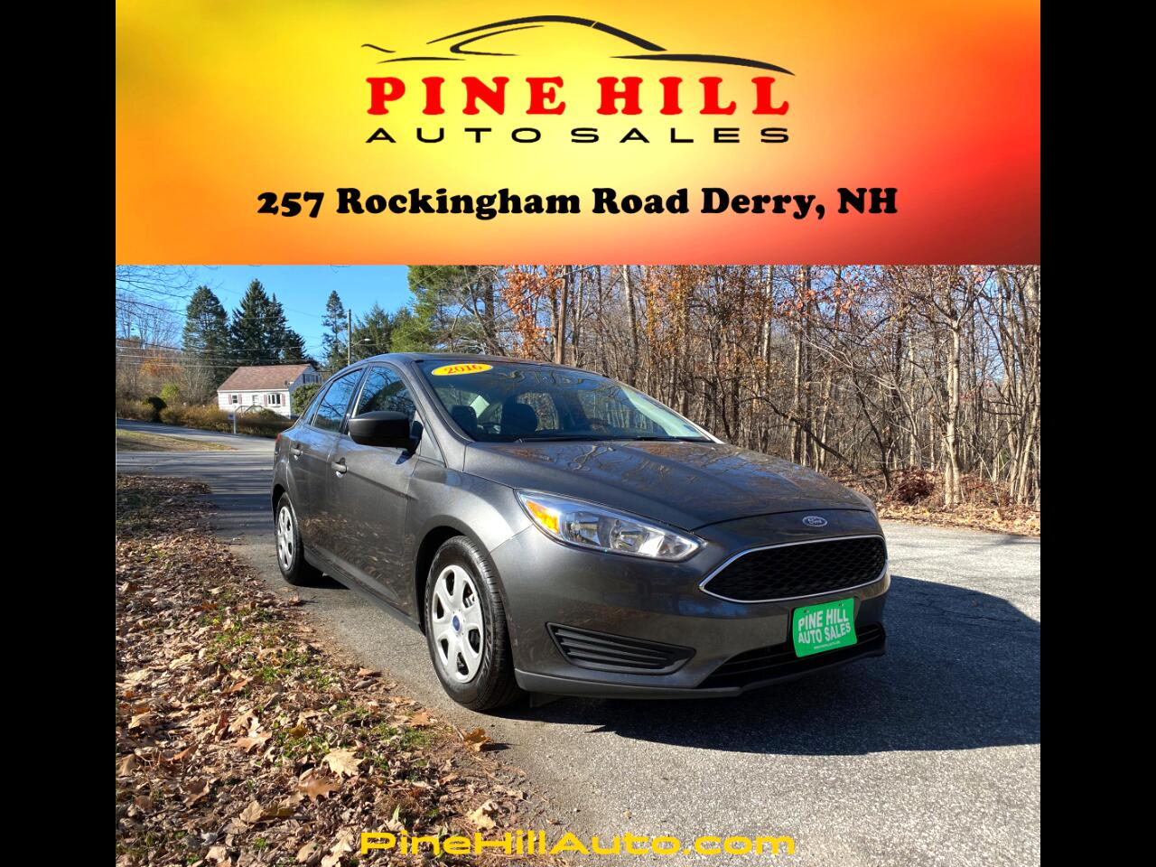 Ford Focus 4dr Sdn S 2016