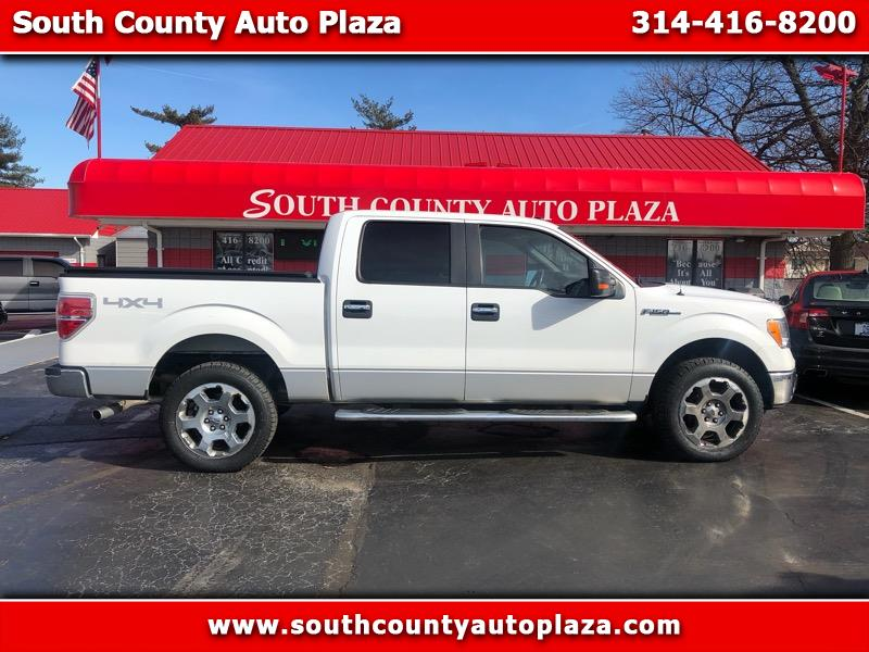 "2010 Ford F-150 4WD SuperCab 133"" XLT"