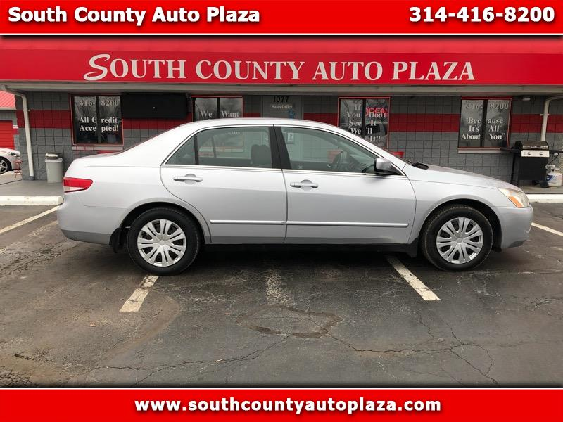 2003 Honda Accord LX V6 sedan AT