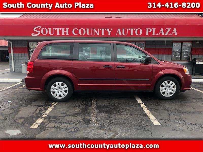 2014 Dodge Grand Caravan 4dr Wgn SXT Premium Plus
