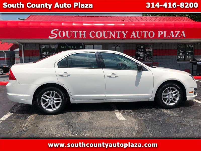 2010 Ford Fusion 4dr Sdn I4 SE FWD