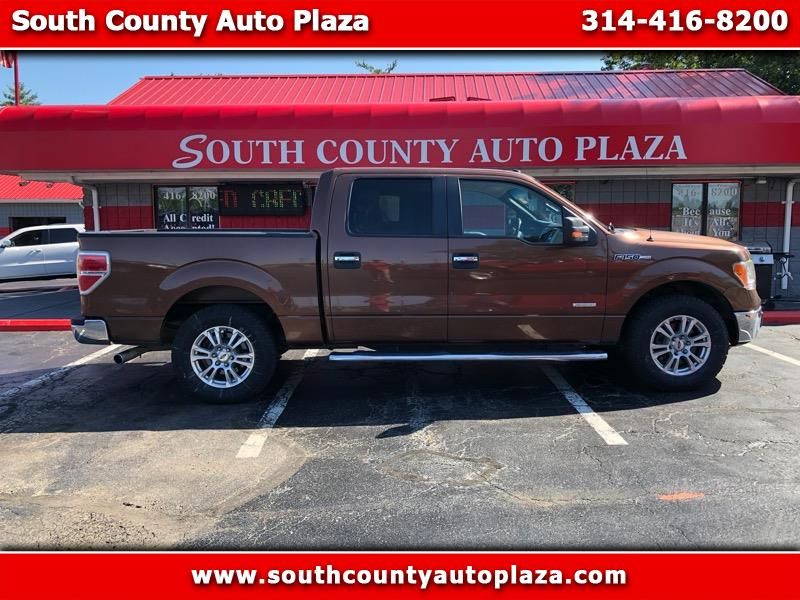 "2011 Ford F-150 4WD SuperCrew 150"" XLT"
