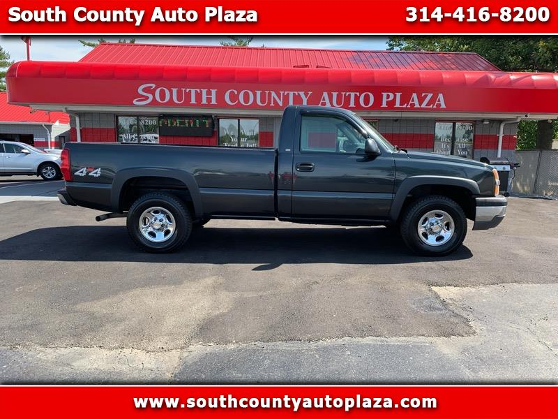 2003 Chevrolet Silverado 1500 Work Truck 1WT Regular Cab Long Box 2WD