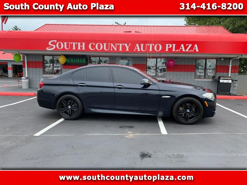 2012 BMW 5-Series M550i xDrive