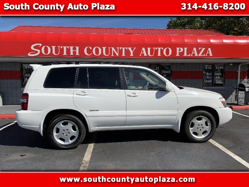 Toyota Highlander 4dr V6 4WD Limited w/3rd Row (Natl) 2007