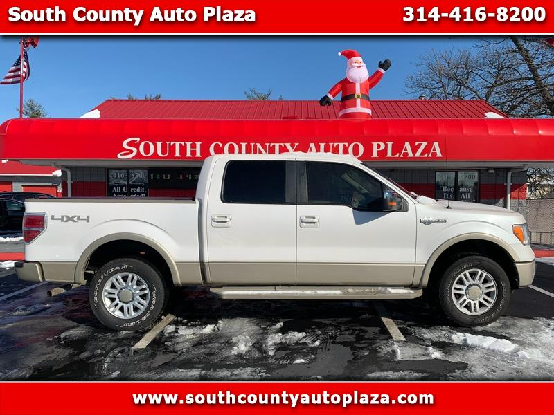 """Ford F-150 4WD SuperCrew 150"""" King Ranch 2010"""
