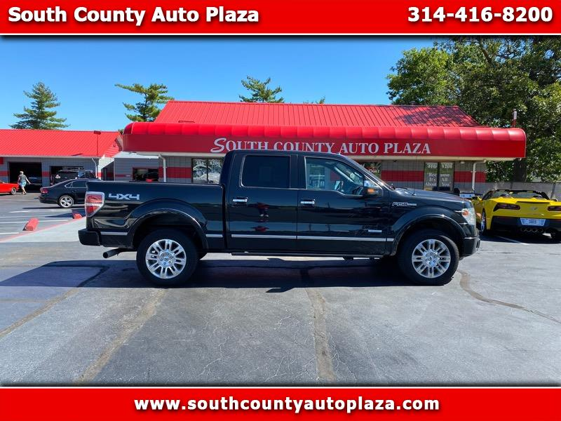 "Ford F-150 4WD SuperCrew 157"" Platinum 2014"