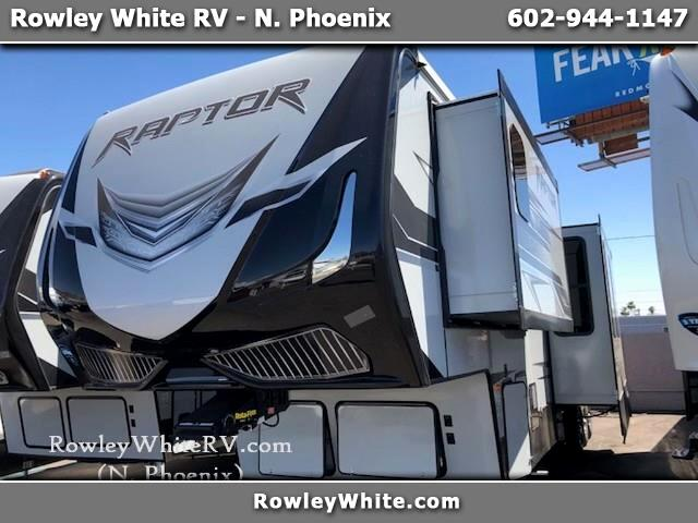 2019 Keystone RV Raptor Toy Hauler 424TS