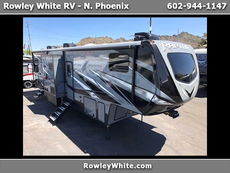 2019 Keystone RV Raptor Toy Hauler 354