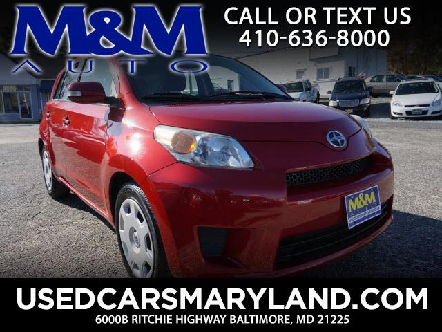 2011 Scion xD Base