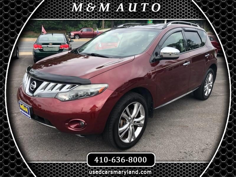 Buy Here Pay Here Md >> Buy Here Pay Here 2010 Nissan Murano Sl Awd For Sale In