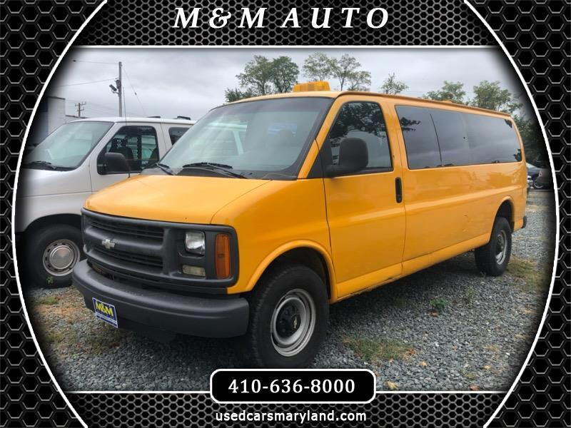 Chevrolet Express 3500 Extended 2002