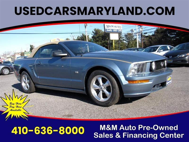 Ford Mustang GT Deluxe Convertible 2007