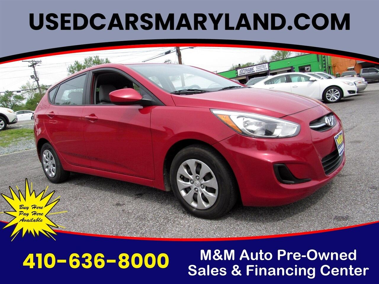 Hyundai Accent Sport 5-Door 6A 2016