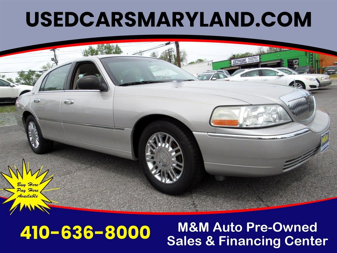 Lincoln Town Car Signature Limited 2008
