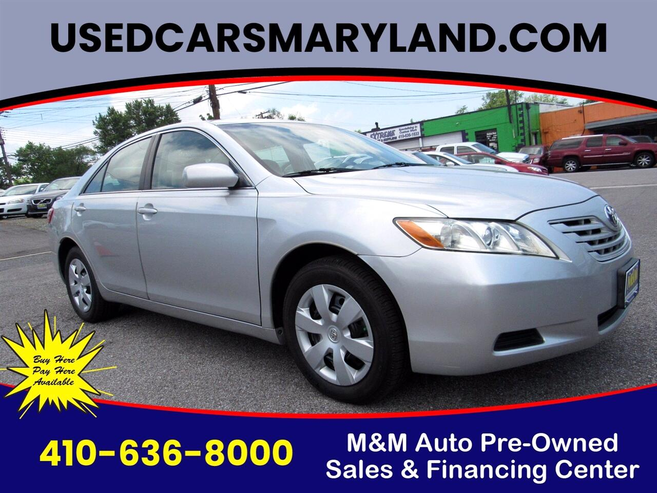 Toyota Camry SE 5-Spd AT 2009