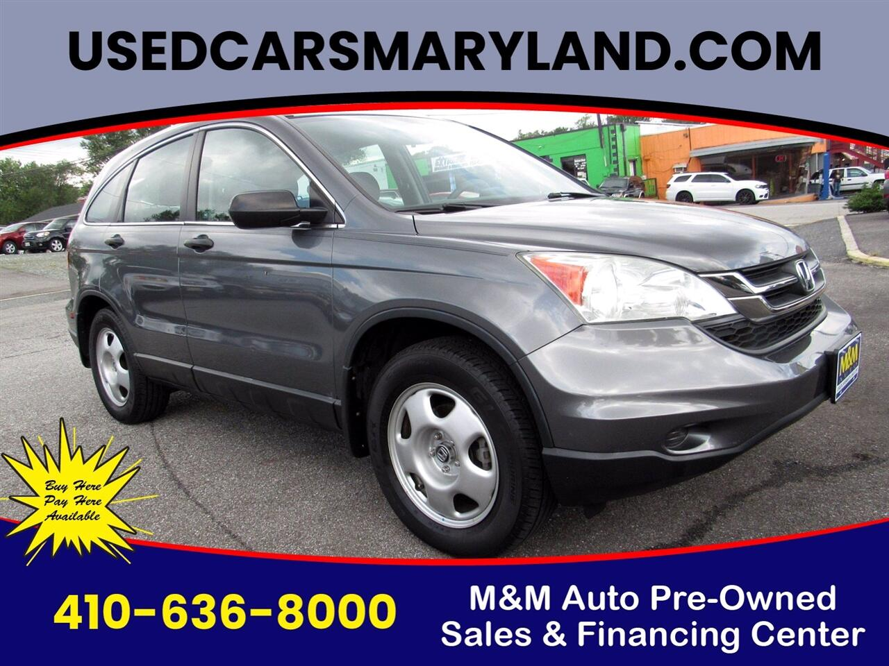 Honda CR-V LX 4WD 5-Speed AT 2010