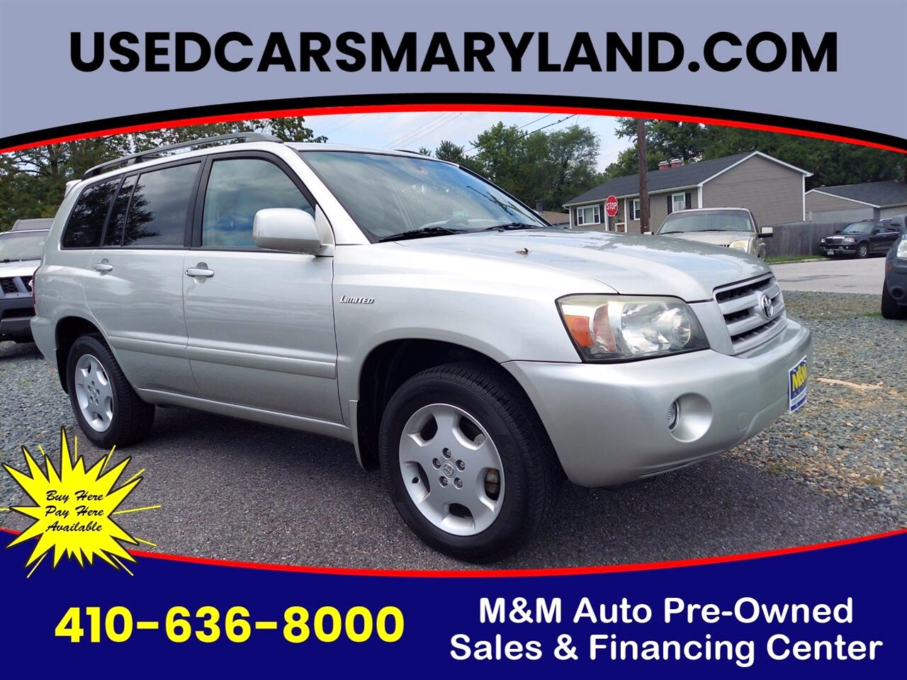 Toyota Highlander Limited V6 4WD 2004