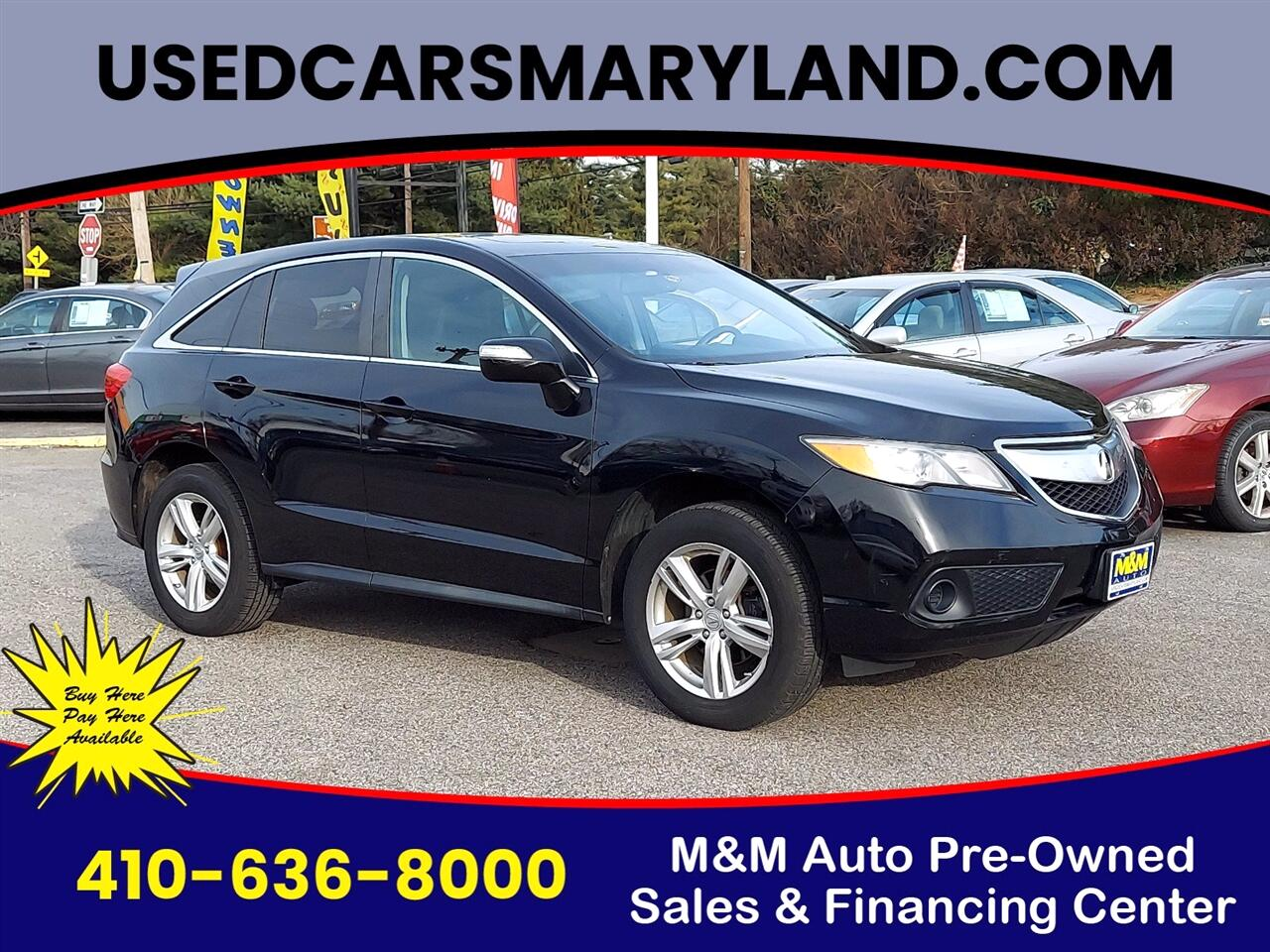 Used Acura Rdx Baltimore Md