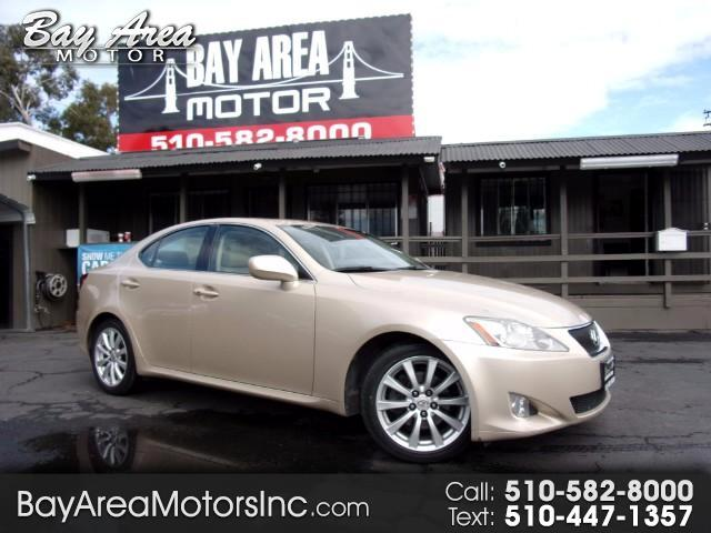 2008 Lexus IS IS 250 6-SPEED AUTOMATIC