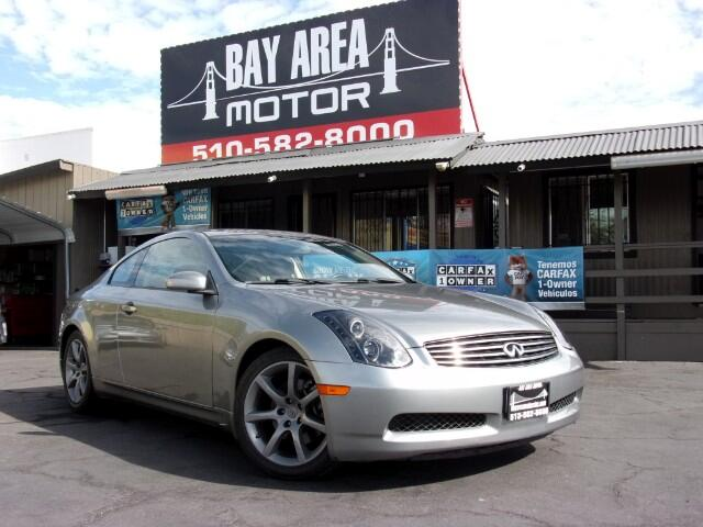 2005 Infiniti G35 Coupe 2dr Cpe Auto w/Leather