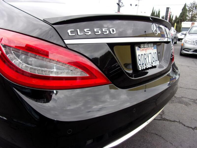 2012 Mercedes-Benz CLS-Class CLS550 4MATIC