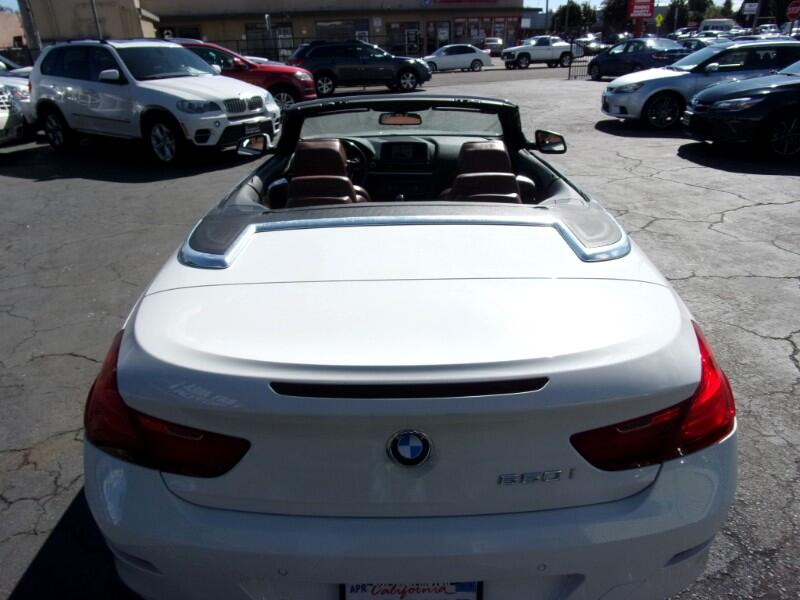 2012 BMW 6-Series 650i Convertible