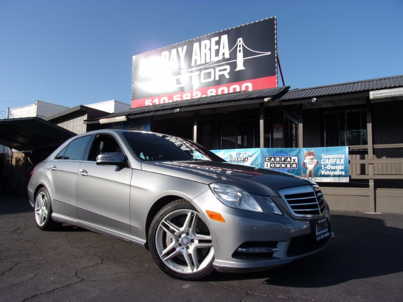 2013 Mercedes-Benz E-Class E550 Sedan 4MATIC
