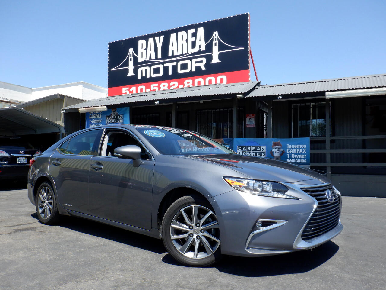 Used 2016 Lexus ES 300h HYBRID for Sale in Hayward CA 94541