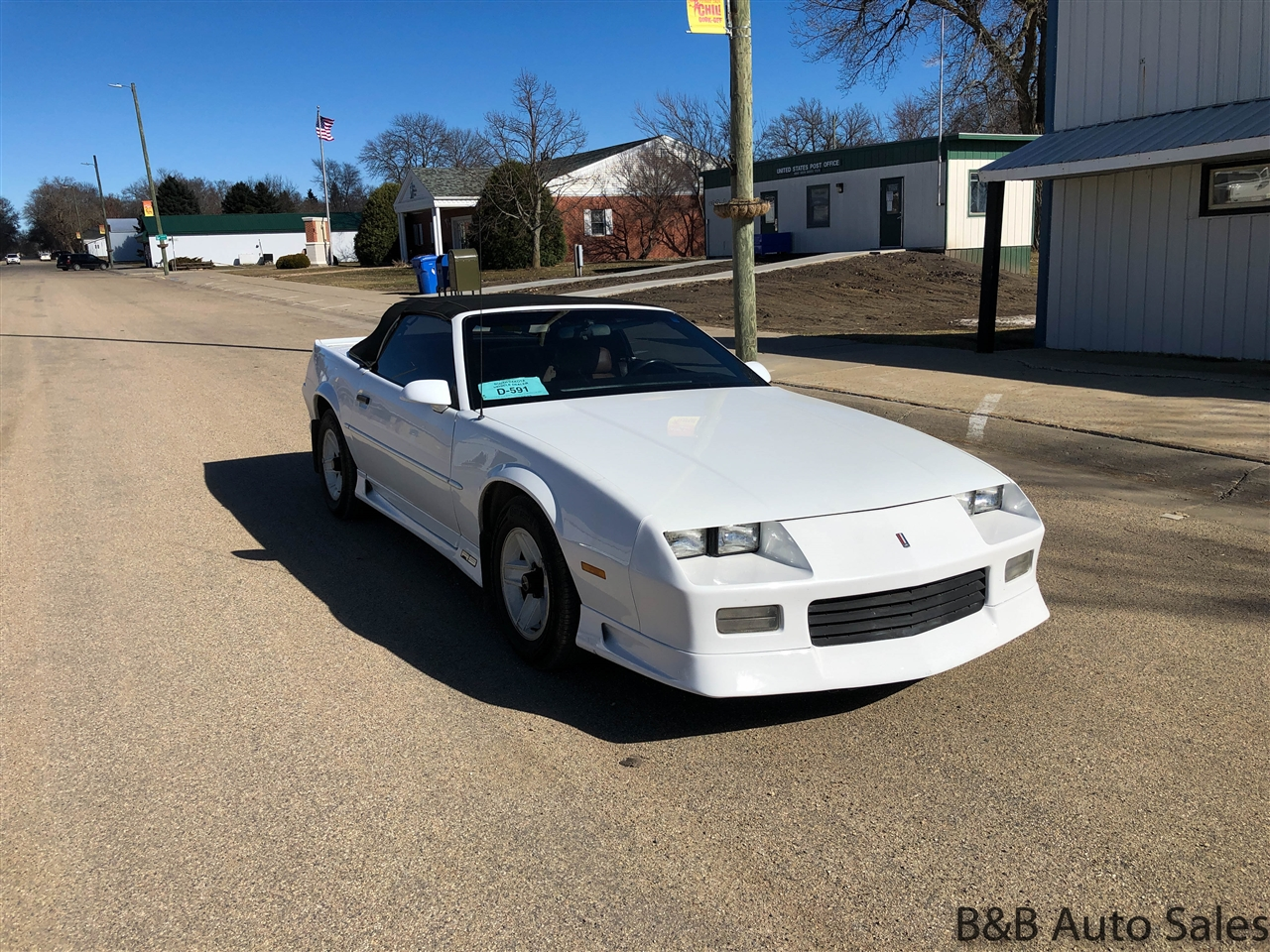 Chevrolet Camaro 2dr Convertible RS 1991