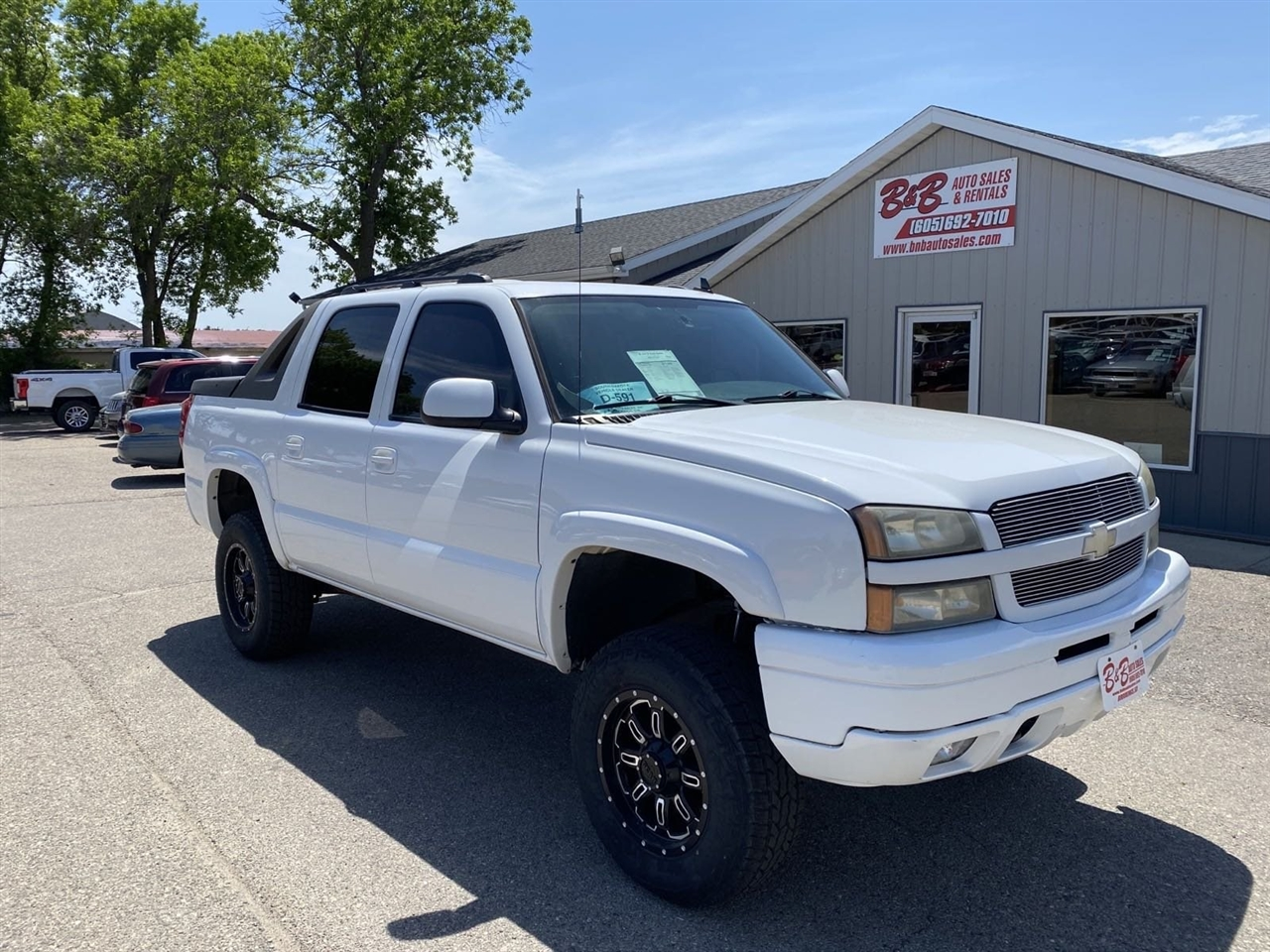 "Chevrolet Avalanche 1500 5dr Crew Cab 130"" WB 4WD LT 2006"