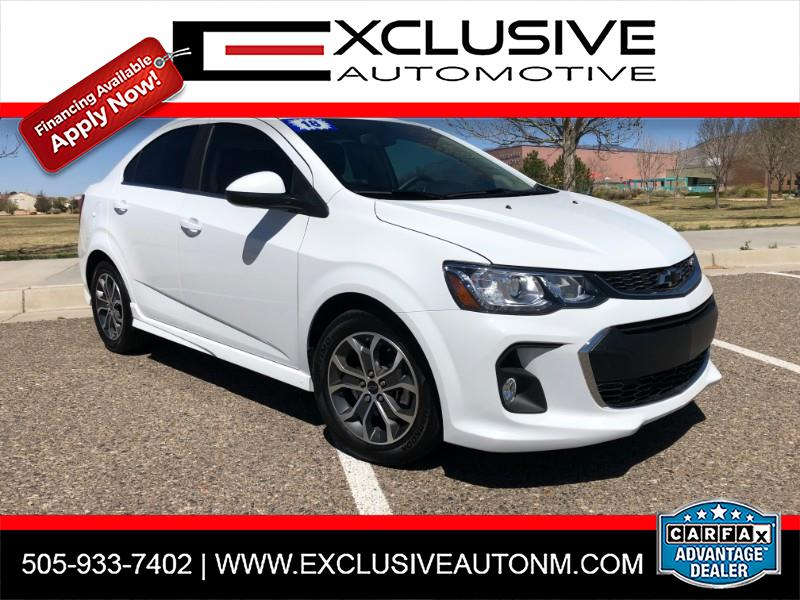 2018 Chevrolet Sonic LT RS