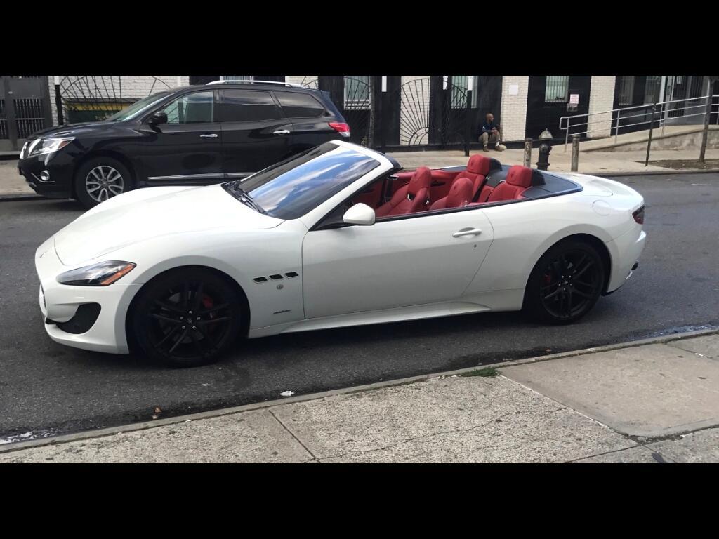 2015 Maserati GranTurismo Convertible 2dr Conv GranTurismo MC Centennial