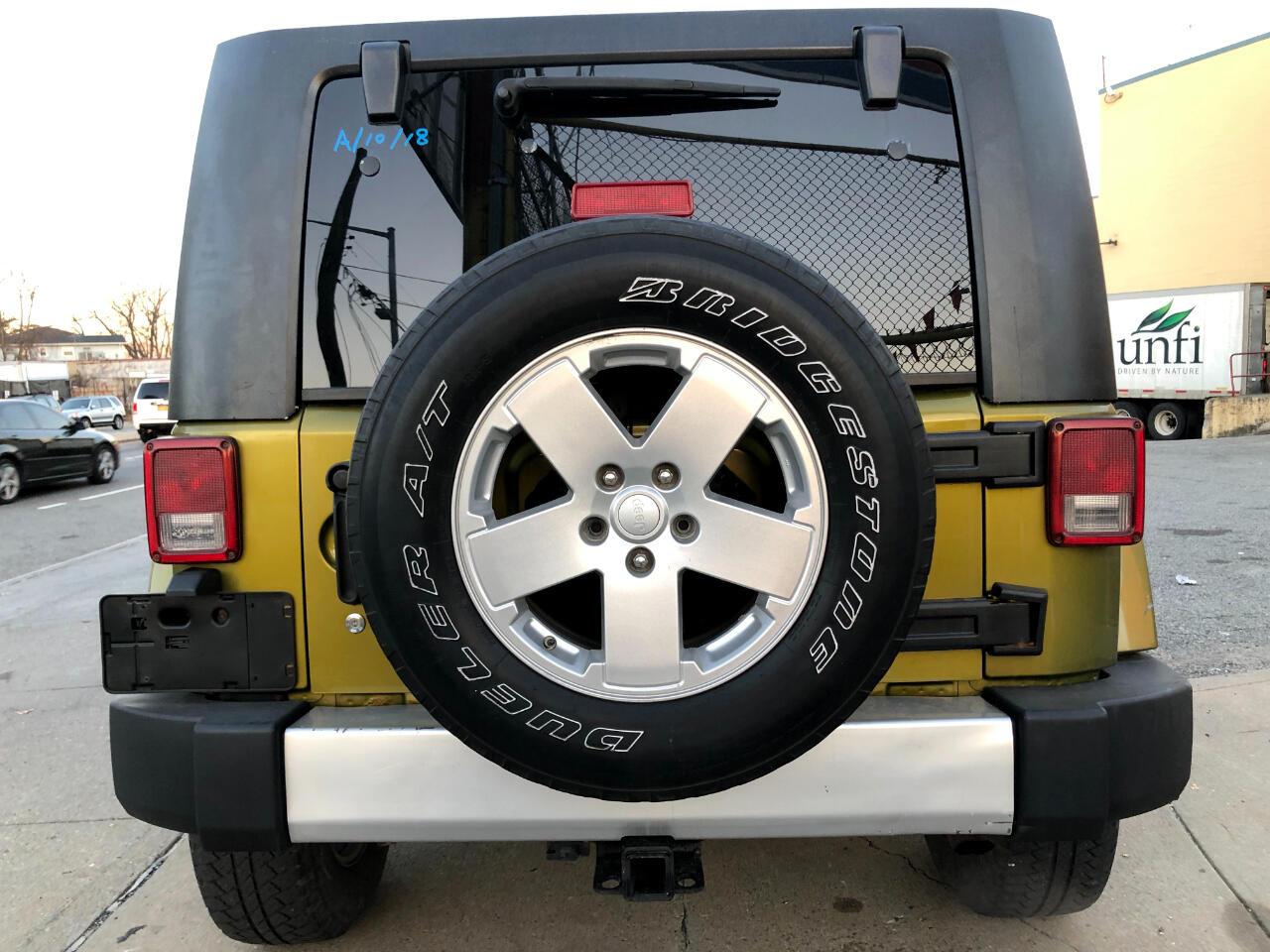 2008 Jeep Wrangler 4WD 4dr Unlimited Sahara