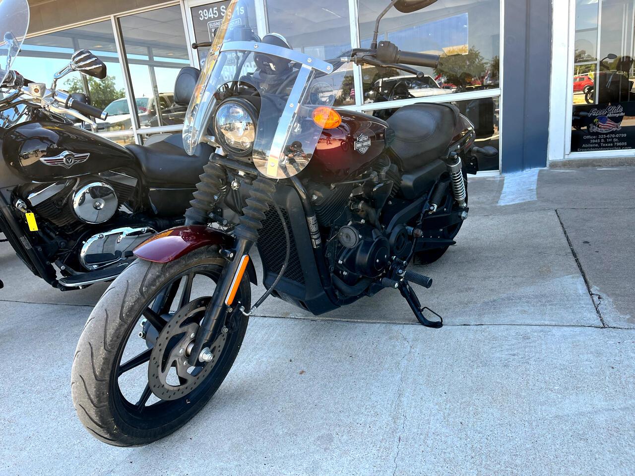 Harley-Davidson XG500  2015