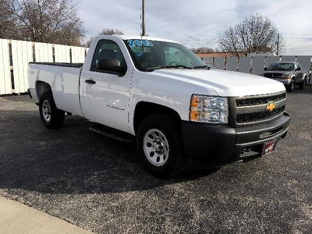 2013 Chevrolet Silverado 1500 Work Truck Long Box 4WD