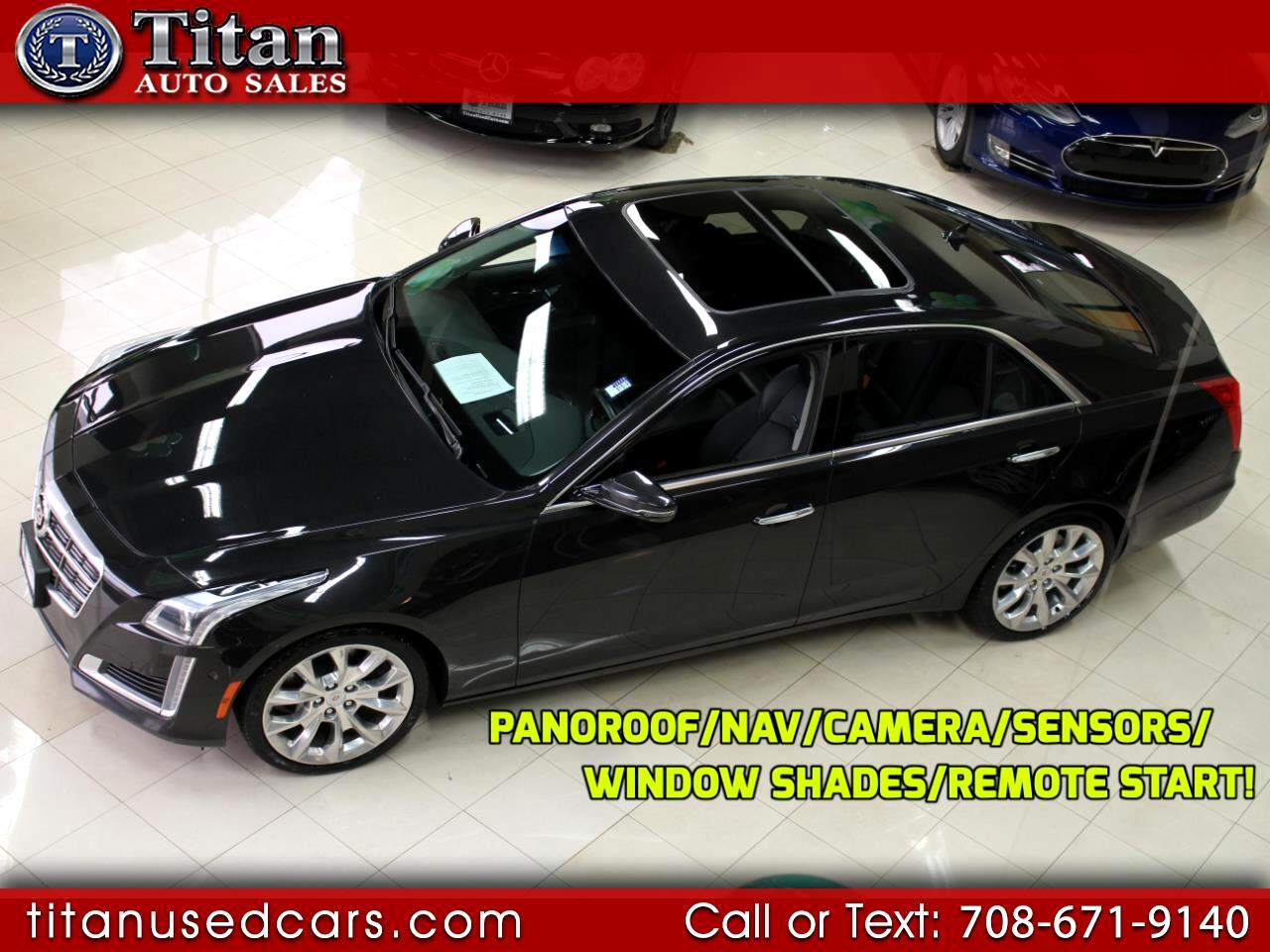 2014 Cadillac CTS Sedan 2.0 Turbo Performance AWD