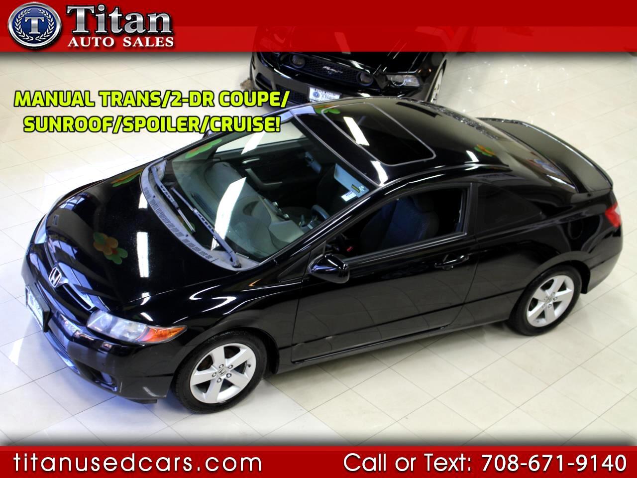 2008 Honda Civic Cpe 2dr Man EX
