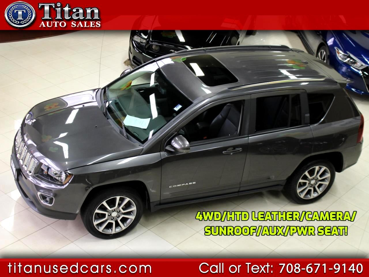 2016 Jeep Compass 4WD High Altitude Edition