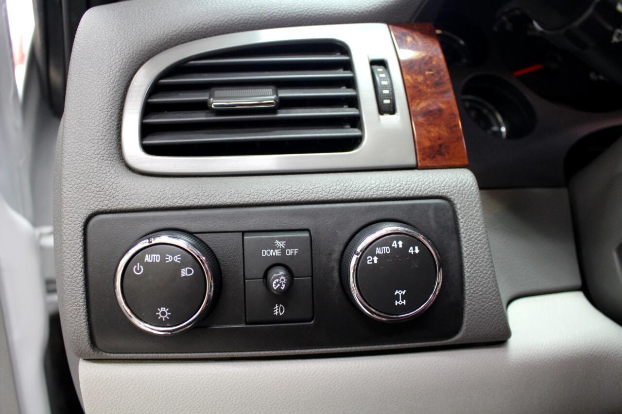 2011 Chevrolet Silverado 1500 4WD Ext Cab 143.5