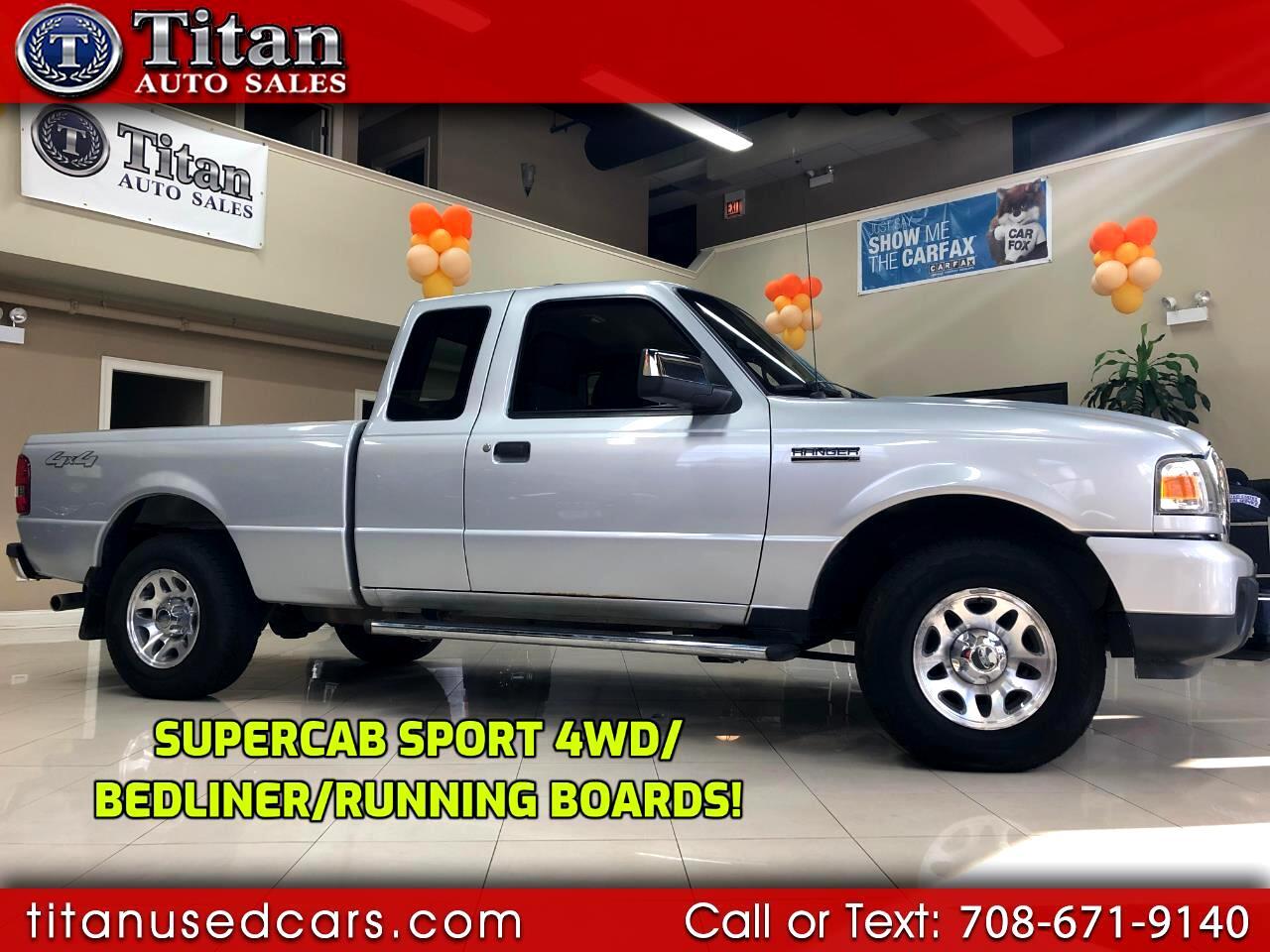 "2011 Ford Ranger 4WD 4dr SuperCab 126"" Sport"